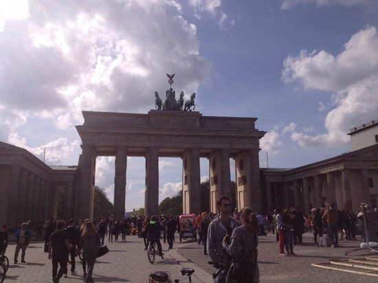 Fat Tire Tours Berlin: The Brandenburg Gate