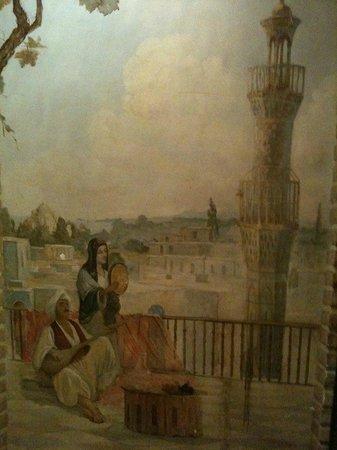 Caucasus Tavern: Painting wall