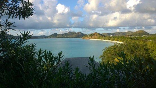 Cocobay Resort: Panorama dalla camera 40