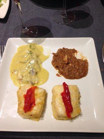 Restaurante Urbano: Tourteau, merlu et morue ! Un régal !