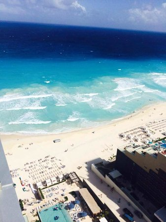 Secrets The Vine Cancún: view from 28th floor presidential suite