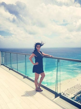 Secrets The Vine Cancun: me again in our room lol