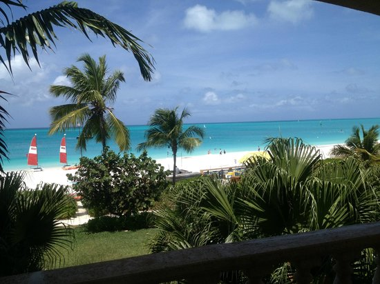 Grace Bay Club: View from our suite