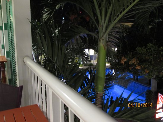Almond Tree Inn: View from second floor balcony