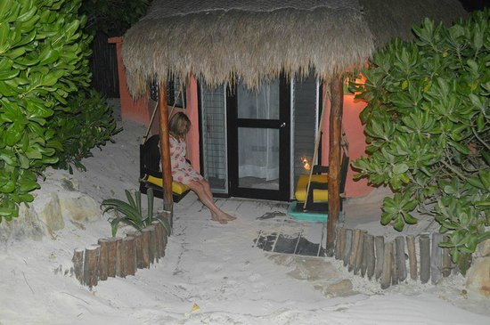 La Zebra Colibri Boutique Hotel: Beach Side Cabana #4