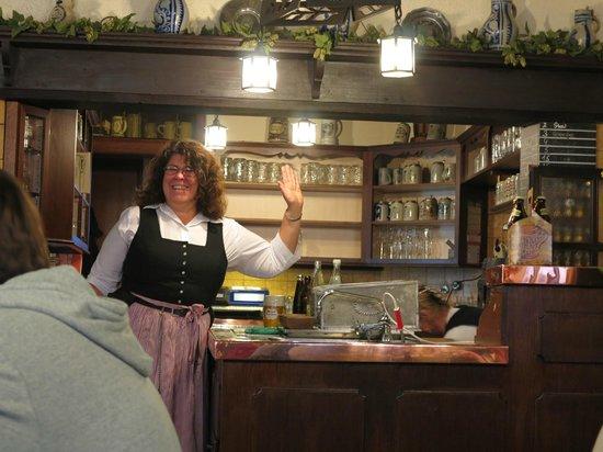 Brauerei Spezial: The friendly staff