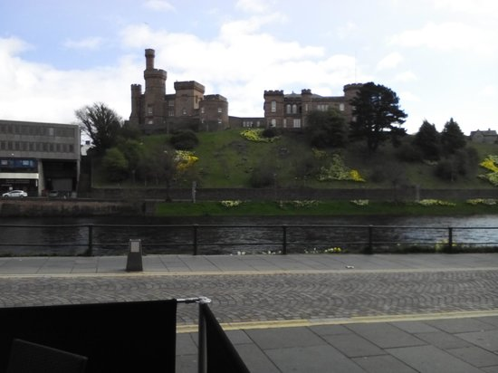 Columba Hotel, Inverness: view from front of hotel