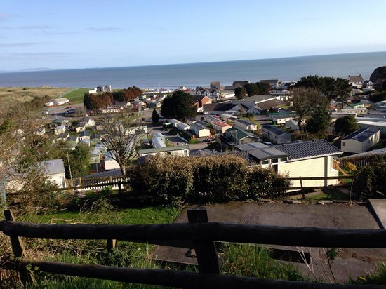 Parkdean - Pendine Sands Holiday Park: View from hill behind site