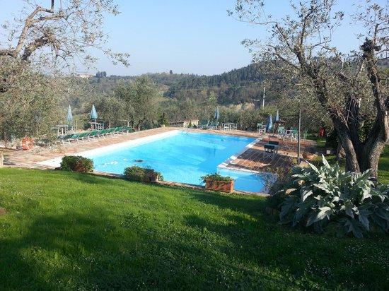 Agriturismo Montalbino: la piscine