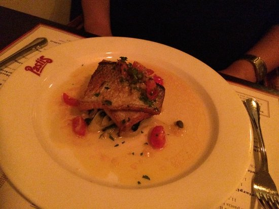 Restaurant Pastis: Fish of the day