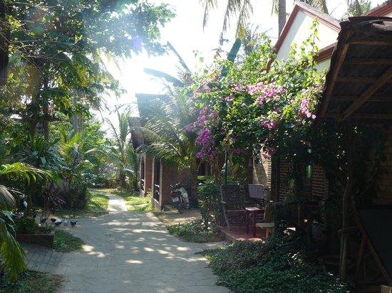 Lien Hiep Thanh Resort: территория
