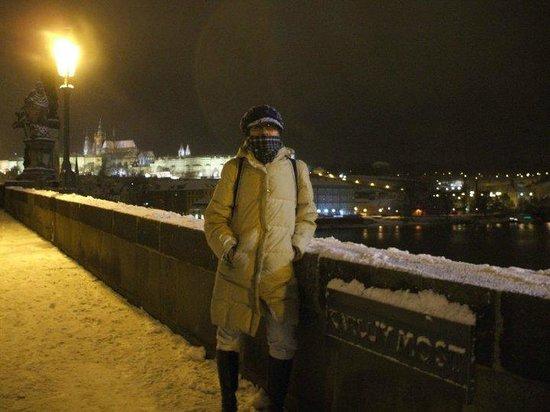 EA Hotel Sonata: Nevando en la ciudad