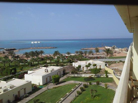 Hilton Hurghada Plaza: вид с номера