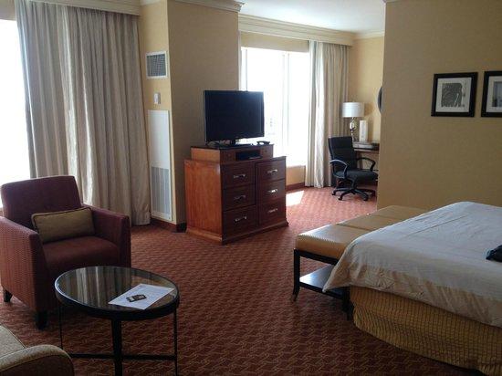 Baltimore Marriott Waterfront: My Room