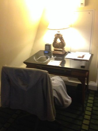 Bourbon Orleans Hotel: Table Desk.