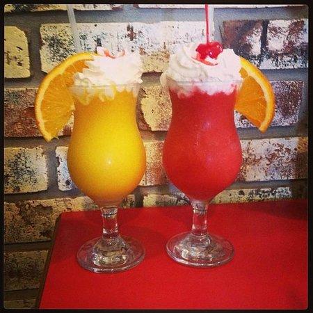 La Bamba II: Mango and Strawberry Daiquiri! Delightful!