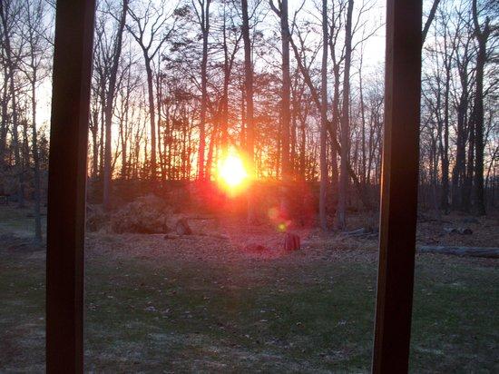 Wyndham Shawnee Village Resort : Sunset from our screened deck