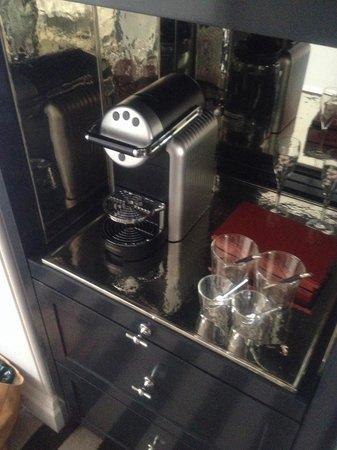 Rosewood London: Coffee maker
