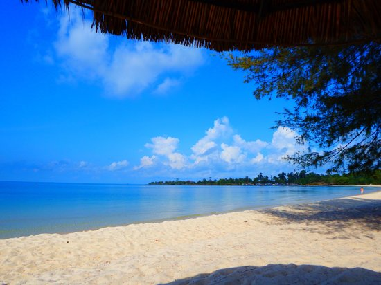 Sokha Beach Resort : La mer d'une grande limpidité