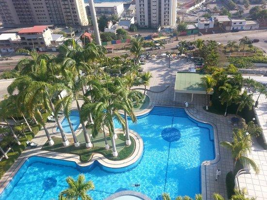 Hotel Ole Caribe: Área da piscina