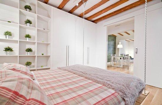 Madrid SmartRentals Chueca : Dormitorio CamaDoble
