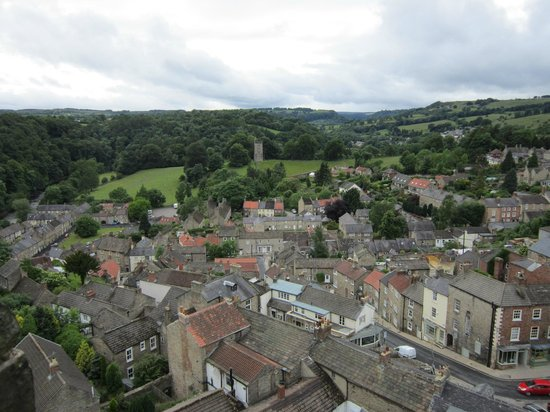 Richmond Castle: View from the tower