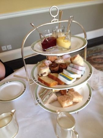 The Merrion Hotel: first course Afternoon Tea