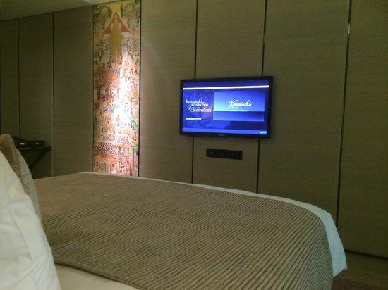 Siam Kempinski Hotel Bangkok : Das Schlafzimmer.