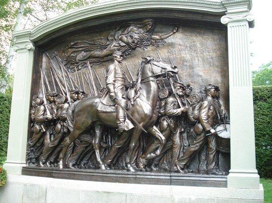 Saint-Gaudens National Historic Site: The Shaw Memorial