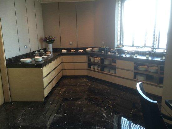 Siam Kempinski Hotel Bangkok: Executive Lounge.
