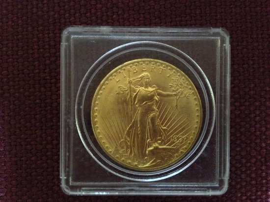 Saint-Gaudens National Historic Site: His famous $20 Gold piece minted from 1907-1933