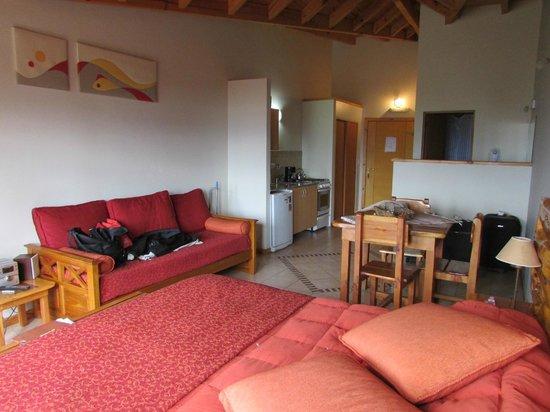 Lagos del Sur Apart & Suites : suite Moreno