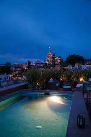 Hotel Nena : Vista desde la terraza