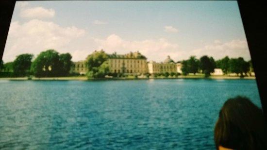 Lake Malaren : Si naviga verso Drottningholm.