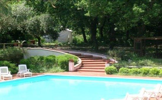 Residence Aegidius: dettaglio del parco