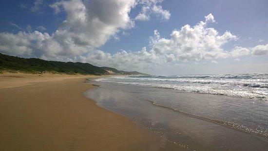 Thonga Beach Lodge: @Beach