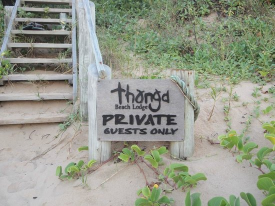 Thonga Beach Lodge: :)