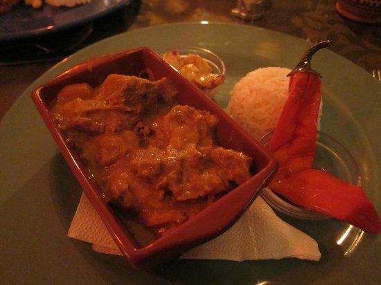 Caravane Cafe : Middagsrätt- köttgryta