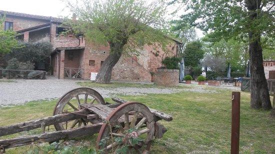 Casa Di Campagna in Toscana: veduta da fuori