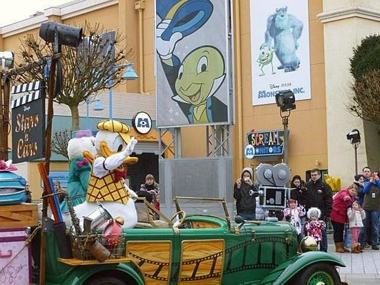 Walt Disney Studios Park: stars n cars