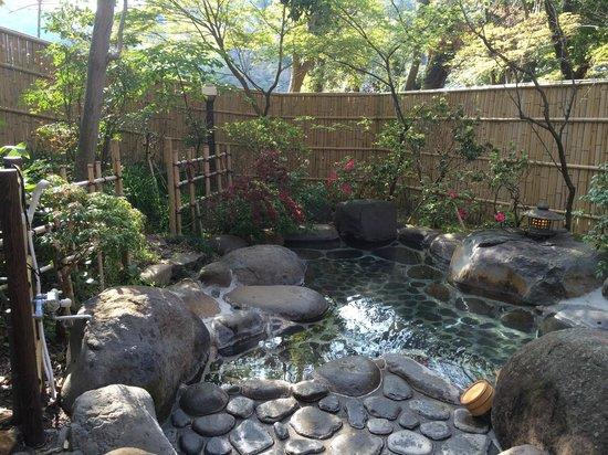 Arai Ryokan: 露天風呂もあります