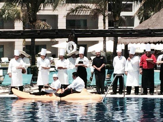 Secrets Silversands Riviera Cancun: Chefs Poolside