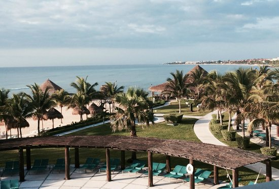 Secrets Silversands Riviera Cancun: View From 3326 Preferred Club Ocean Front Suite