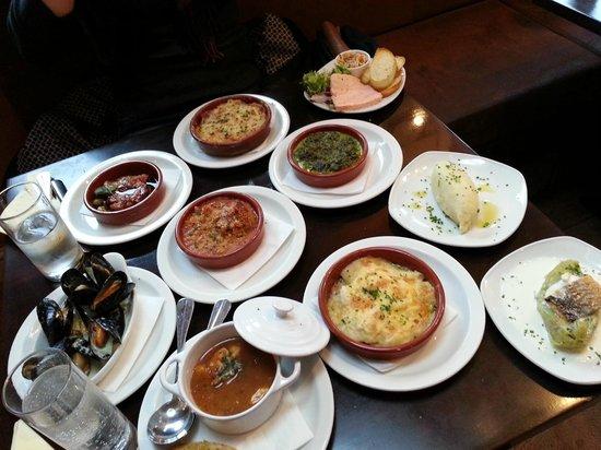Bistro La Barrique: food