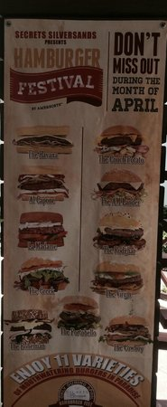 Secrets Silversands Riviera Cancun: April Burger Month