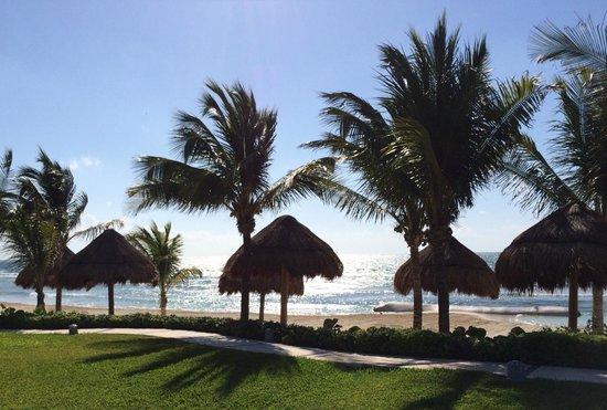 Secrets Silversands Riviera Cancun: Poolside View