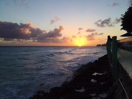 Coral Mist Beach Hotel: Sunset