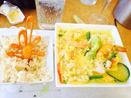 Sunset Cafe: Shrimps in Creamy Creole Sauce
