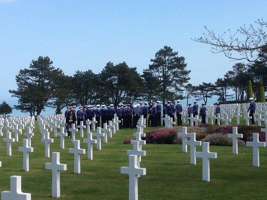 Monumento y Cementerio Estadounidense de Normandía: American cemetary normandy