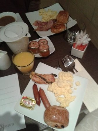 Hotel Park Lane Paris: breakfast, our choice